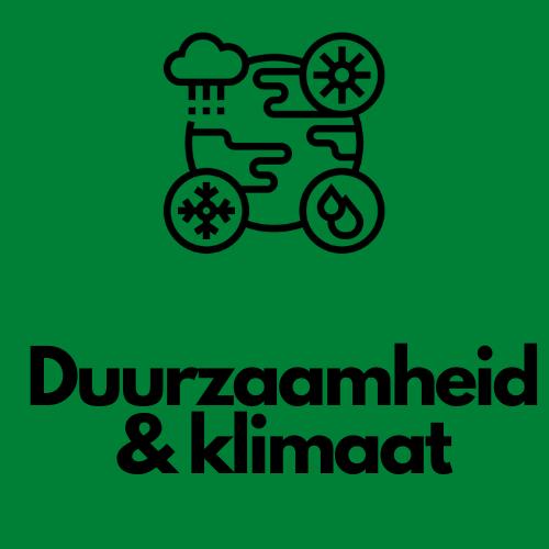 duurzaamheid en klimaat